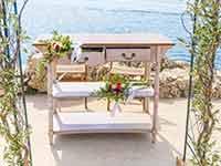 Destination Wedding in Croatia - Flammeum - Gates of Paradise - Altar detail