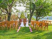 Destination Wedding in Croatia - Flammeum - Nature Harmony - Altar