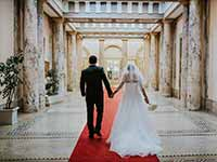 Destination Wedding in Croatia - Flammeum - Royal Palace - Entrance