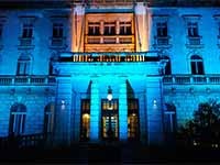 Destination Wedding in Croatia - Flammeum - Royal Palace - Night