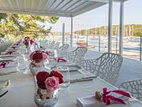Destination Wedding in Croatia - Flammeum - Beauty of the Sea - Decoration