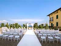 Destination Wedding in Croatia - Flammeum - Garden of Adriatic - Terrace