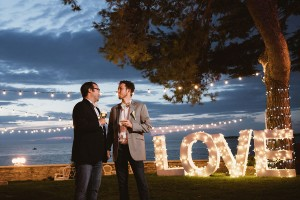 Wonderful Same-sex Destination Wedding of two Wine Lovers and World Travelers