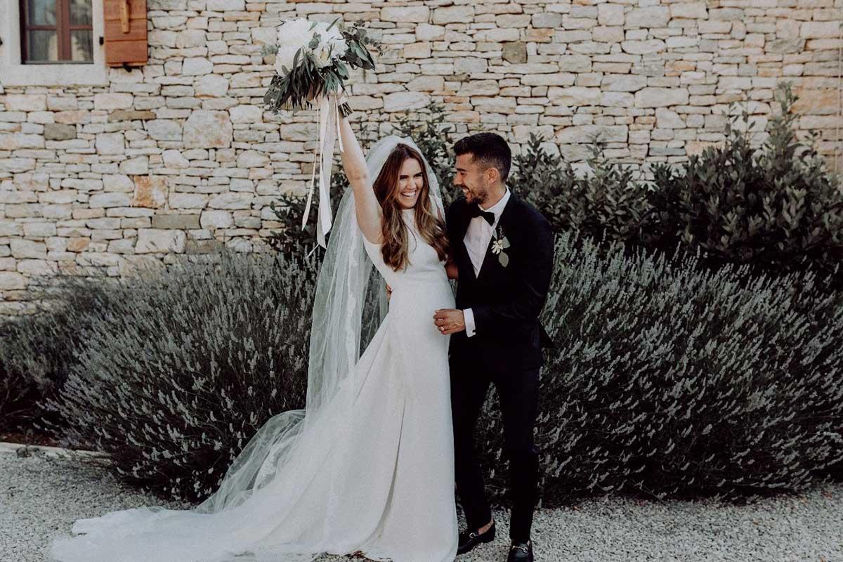 British Wedding in Istria