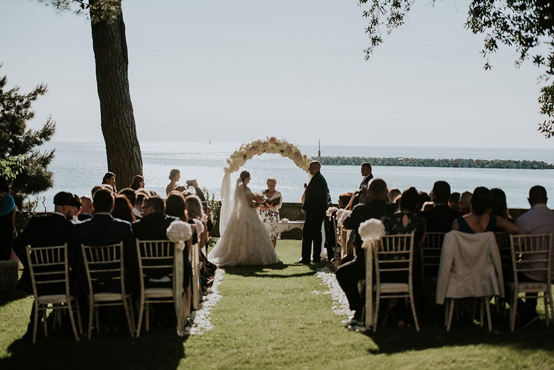 Elegant Destination Wedding in Istria
