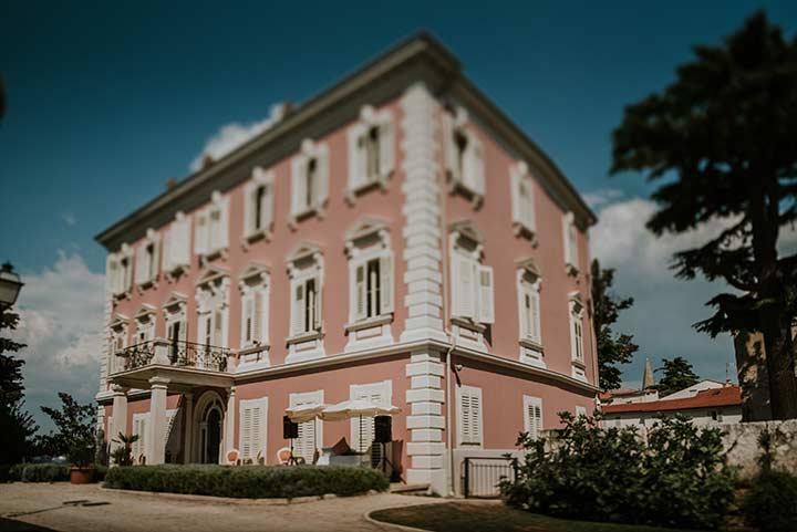 Noble villa is the most notable landmark in Poreč.