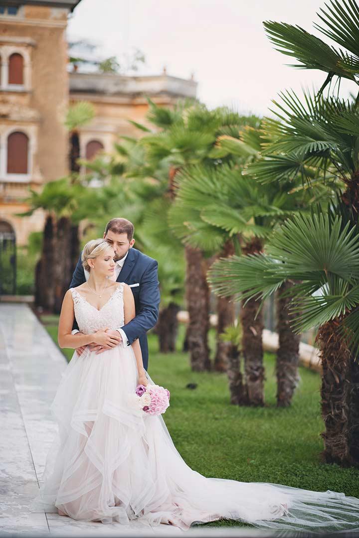 Wedding in Opatija, on Istrian east coast.